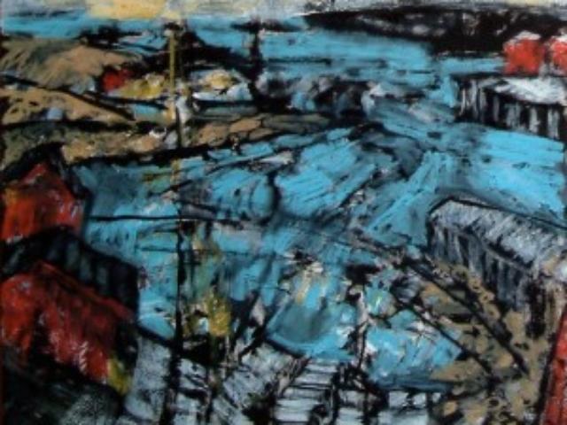 2004 Newfoundland Sketch mixmedia 36 x 43,2cm