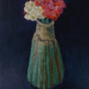 "(sold) Small Flowers 8"" x 6"" Oil"