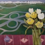 "Tulips 24 x 36"" (61x91.5cm)  oil/canvas 2014"