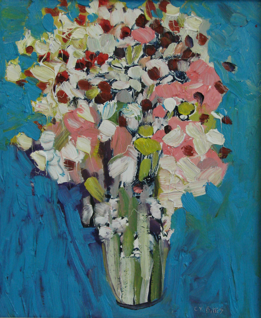"New Bouquet 18x15"" Oil/Panel 2015"