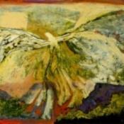 Icarus IX Over The Mesa 12 x 16 2006